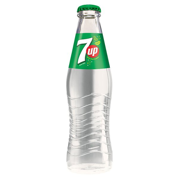 7 Up 0,2 l (w szklanej butelce)